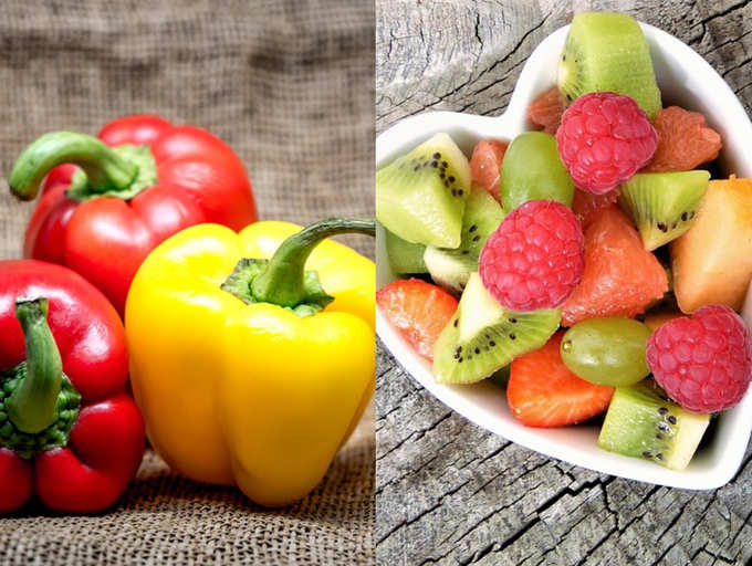 veggie and fruits to lose weight